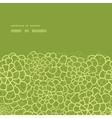 abstract green natural texture horizontal frame vector image vector image