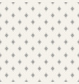 abstract seamless pattern of rhombuses vector image vector image
