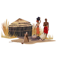 Africa Culture vector image vector image
