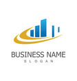 building business logo vector image vector image