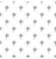 calendula pattern seamless vector image