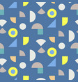 color blocks seamless pattern vector image