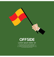 Offside Football vector image vector image