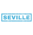 Seville Rubber Stamp vector image vector image