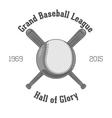 Vintage Baseball Label vector image vector image