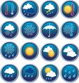 weatherset vector image