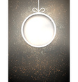 Christmas paper ball vector image vector image