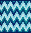 marine color zigzag seamless pattern vector image