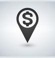 money map location icon vector image vector image