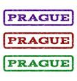 prague watermark stamp vector image
