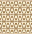 seamless pattern based on ornament kumikogolden vector image