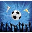 Soccer championship background vector | Price: 1 Credit (USD $1)