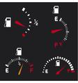 gas gauge vector image