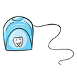 A tissue holder vector image vector image