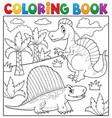 Coloring book dinosaur topic 7