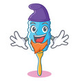 Elf feather duster character cartoon
