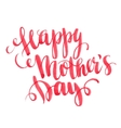Happy Mothers Day Hand-drawn card vector image vector image