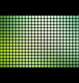 light green shades abstract rounded mosaic vector image vector image