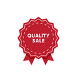 quality product label market tag design vector image vector image