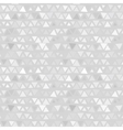 Seamless pattern of triangles gray background vector image vector image