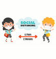 Social distance rules for children