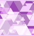 violet polygon created abstract background vector image vector image