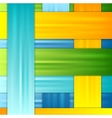 Abstract corporate colorful stripes background vector image vector image