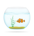 aquarium with fish 01 vector image vector image