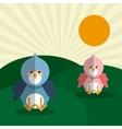 bird icon design graphic animal vector image vector image