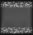 chalkboard background with decorative stripes vector image