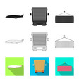 design goods and cargo symbol vector image vector image