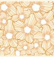 flower seamless pattern flower background texture vector image