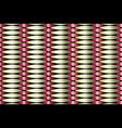 golden copper metallic geometric pattern vector image vector image