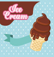 ice cream image vector image