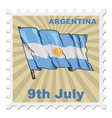 national day of Argentina vector image vector image