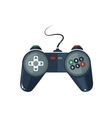 picture of gamepad in flat style vector image vector image
