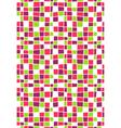 Seamless Bright Abstract Mosaic Pattern vector image vector image