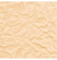 texture crumpled sepia paper vector image vector image