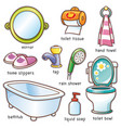 bathroom element vector image