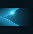 blue abstract circuit technology backgroundspeed vector image vector image