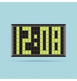 Clock Logo Icon Isolated Watch Object vector image vector image