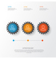 communication icons set collection of web profile vector image vector image