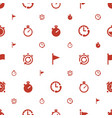 finish icons pattern seamless white background vector image vector image