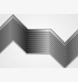 geometric tech metallic stripes abstract vector image vector image