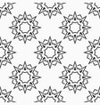 oriental eight pointed stars seamless pattern vector image vector image