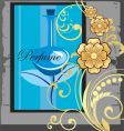 perfume advert vector image vector image