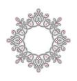 radial liear pattern or vignette vector image