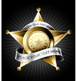 Sheriff badge vector | Price: 3 Credits (USD $3)