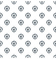 smart printing service pattern seamless vector image