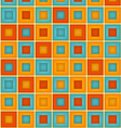Geometrical Double Square Pattern vector image